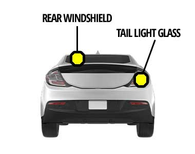 Rear Windshield and Tail Light Glass Replacement Service